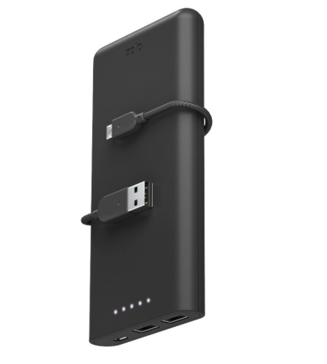 extra power f r iphone co anker zolo powerbank mit. Black Bedroom Furniture Sets. Home Design Ideas