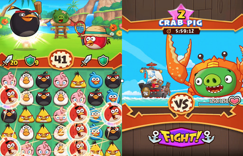 Angry Birds Fight Ansicht