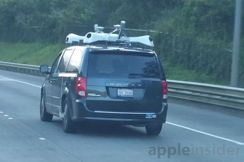 Apple Fahrzeug Kamera