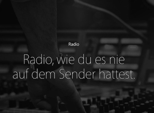 Apple Music Radiosender