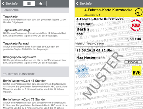 bvg app f r berlin jetzt mit g nstigen 4 fahrten tickets. Black Bedroom Furniture Sets. Home Design Ideas