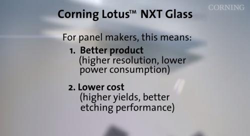Corning Lotus NXT