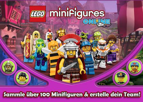 Lego Minifigures Ansicht