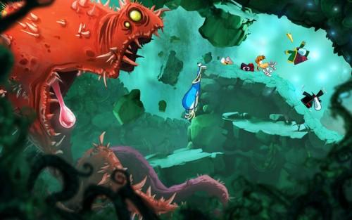 Rayman Origins Screen