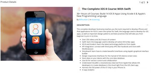 Stacksocial iOS Programmier Kurs Jun15
