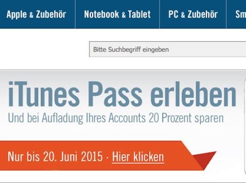 iTunes Pass Cyberport