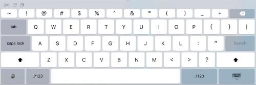 iOS 9 Tastatur