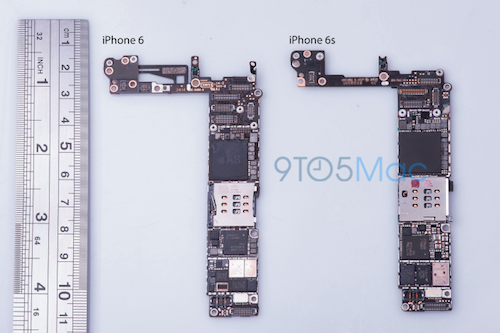 9to5 iPhone 6S Logicboard