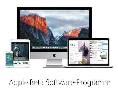 Apple Beta Software Programm