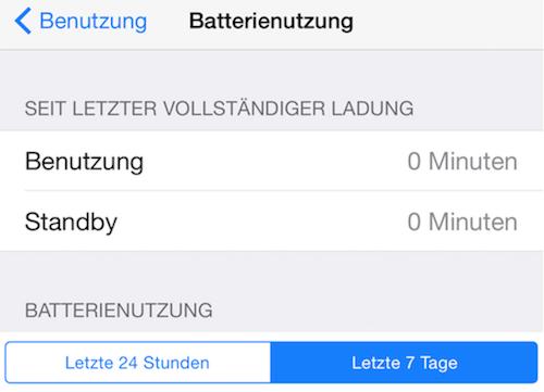 Apple Music Batterienutzung
