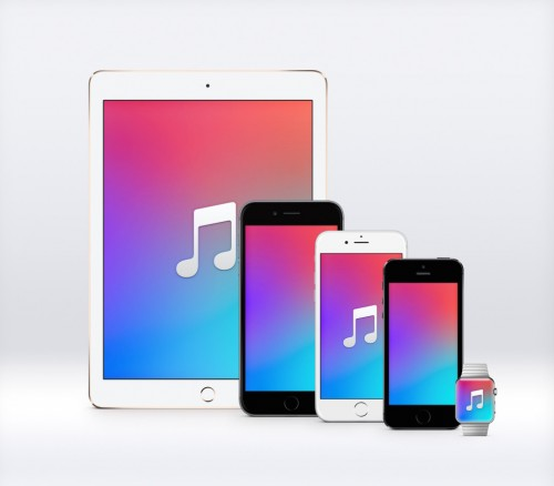 Apple Music Hintergrund