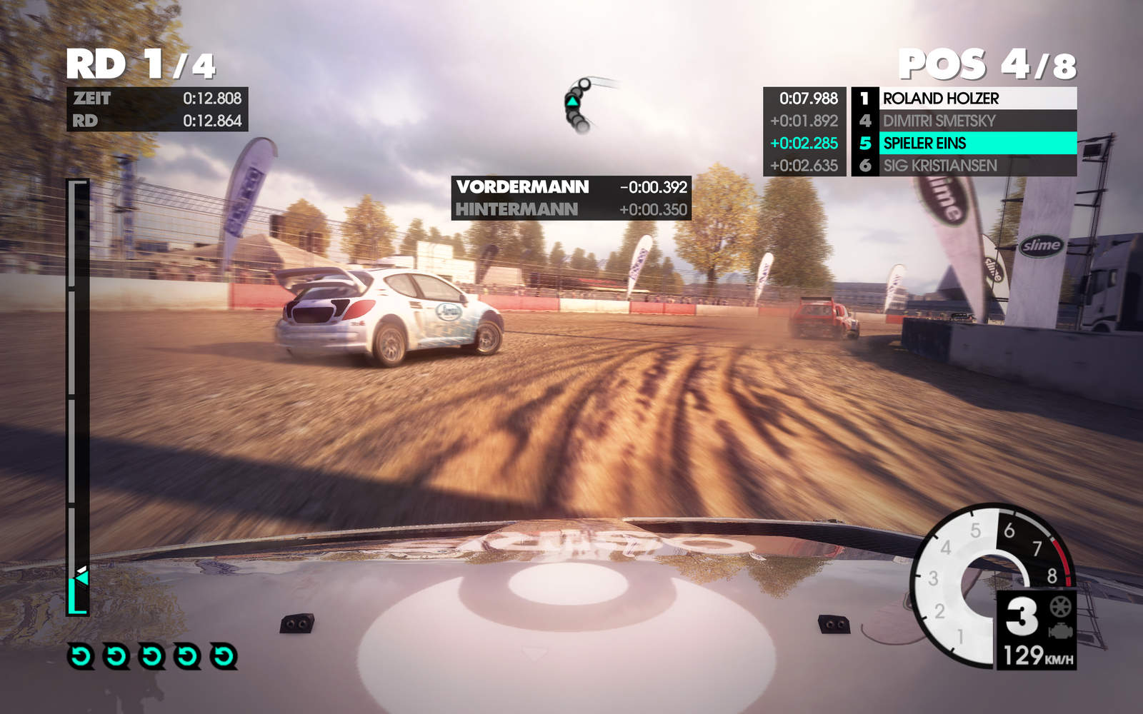 Dirt 3 Screen