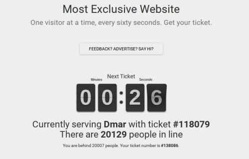 Most Exclusive Website