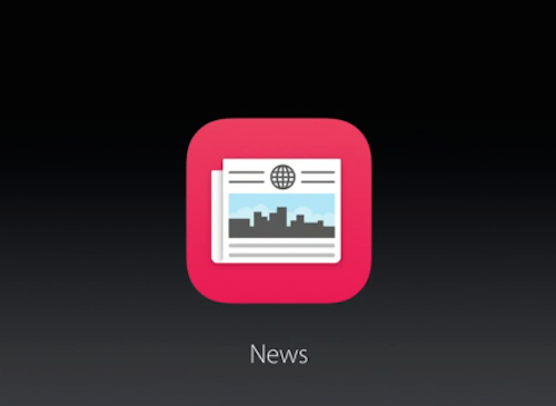 News App iOS 9 Keynote
