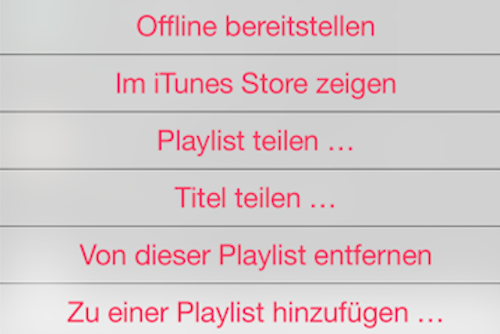 Offline Apple Music