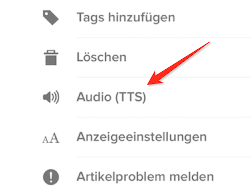 Pocket Audio TTS