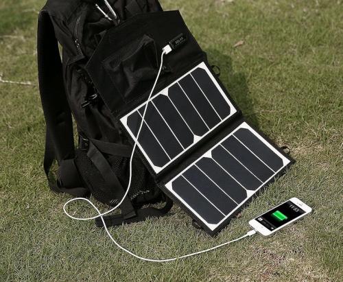 Solar Ladegeraet Bild