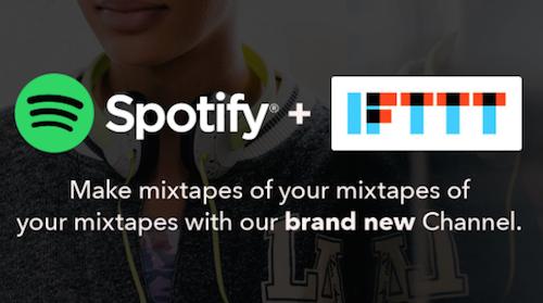 Spotify IFTTT