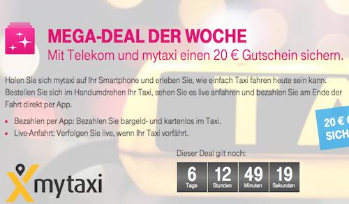 Telekom mytaxi