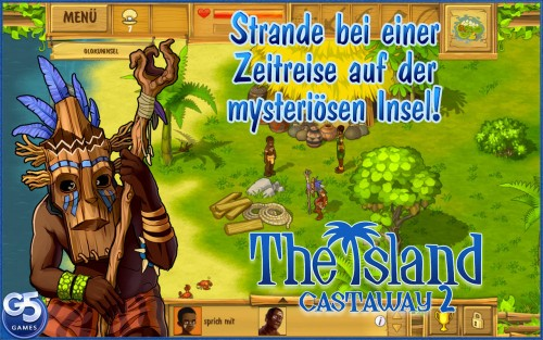 The Island Castaway 2 Screen