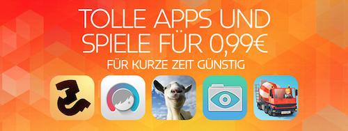 Tolle Apps und Spiele Apple