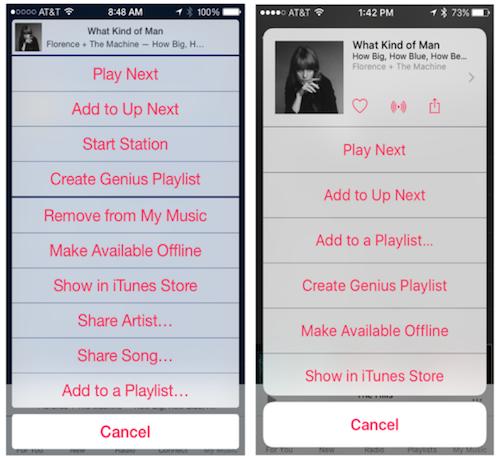 iOS 8.4 neu iOS 9 Apple Music