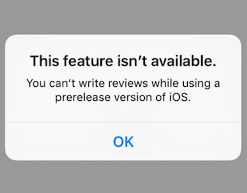 iOS 9 Beta Bewertungen