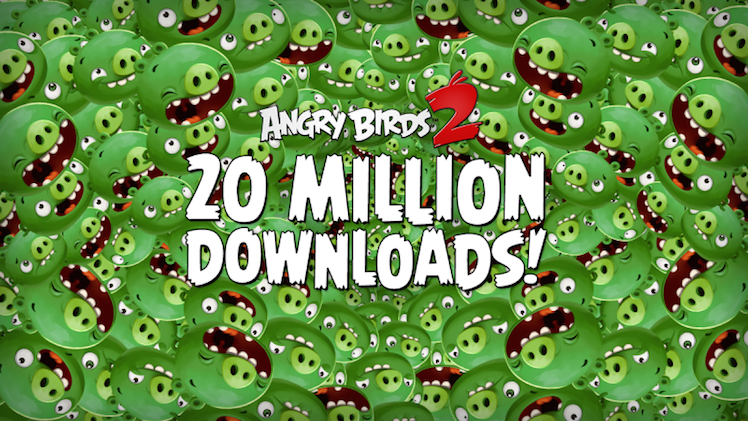 Angry Birds 2 Rekord
