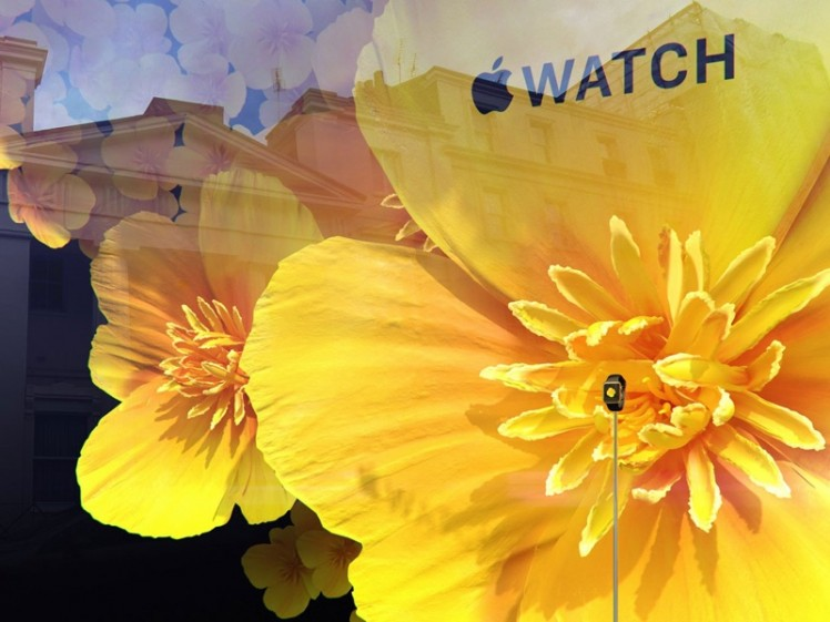 Apple Watch Blumen