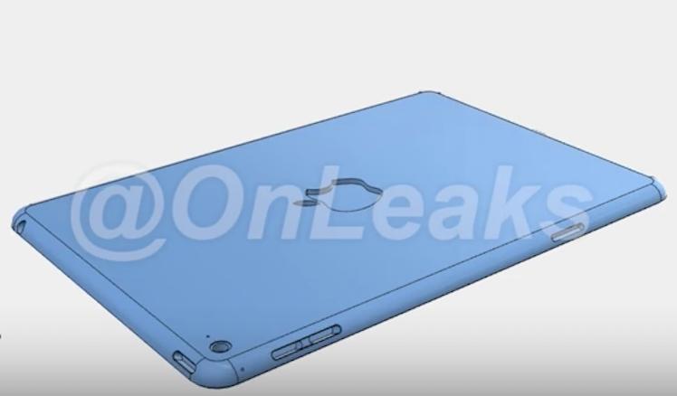 CAD on leaks iPad mini 4