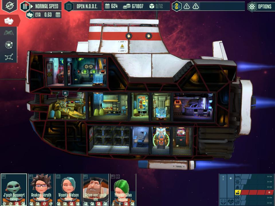 Cosmonautica Screen