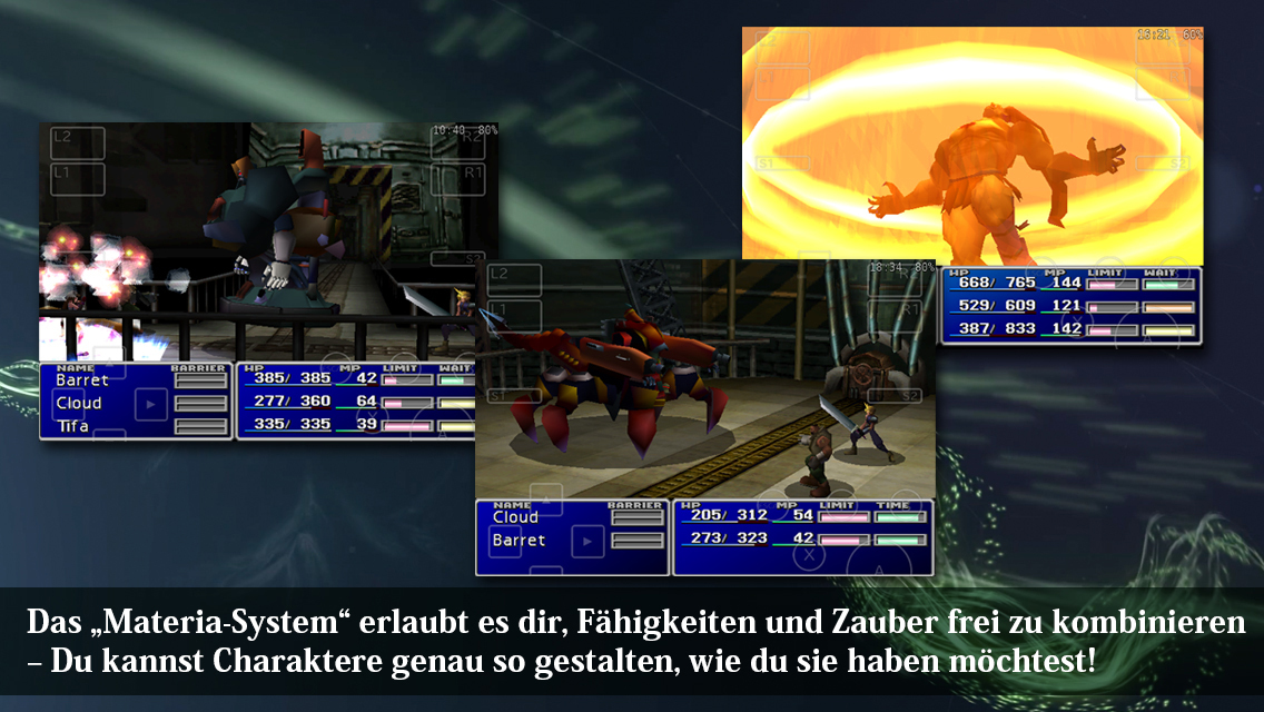 Final Fantasy VII Screen
