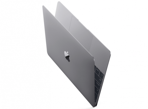 MacBook 12 spacegrau