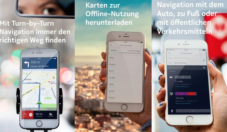 Nokia Here Uebersicht