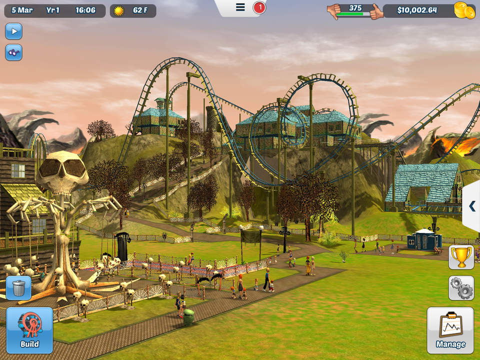 Roller Coaster Tycoon 3 Screen