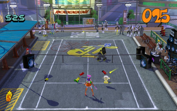SEGA Superstars Tennis Screen