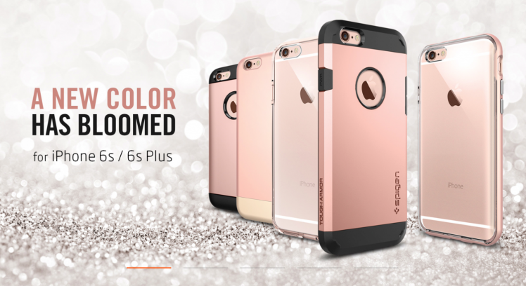 Spigen Rose Gold iPhone 6S Case