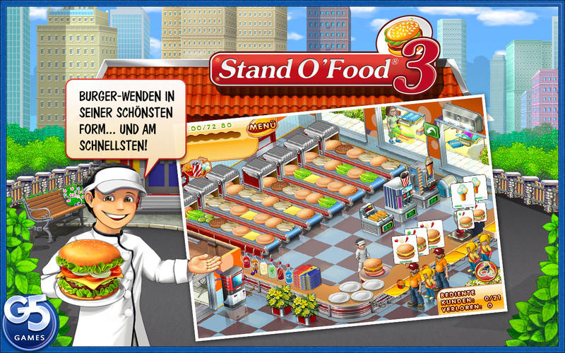 Stand o Food Screen