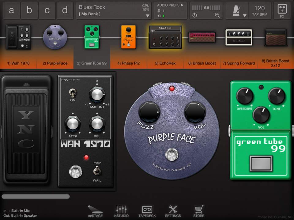 ToneStack Screen