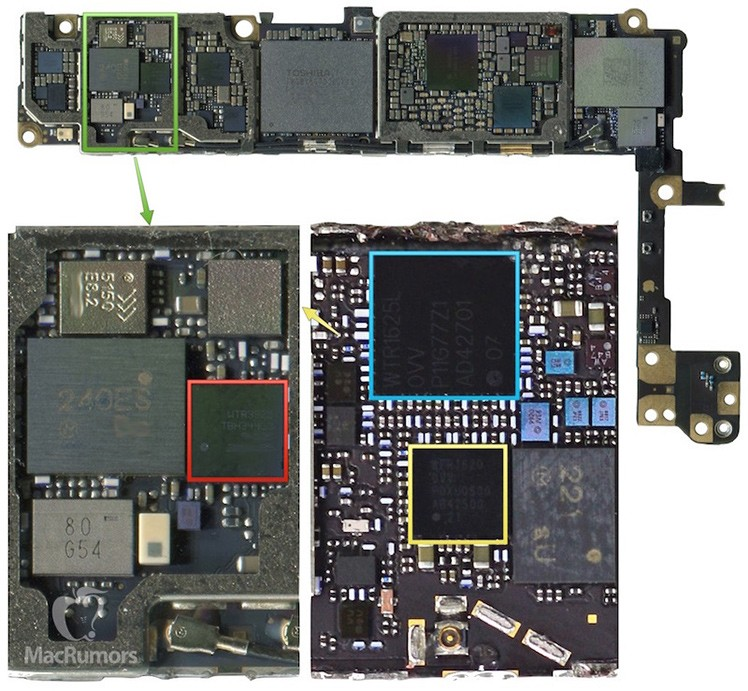 iPhone 6S Logic Board (Leak)