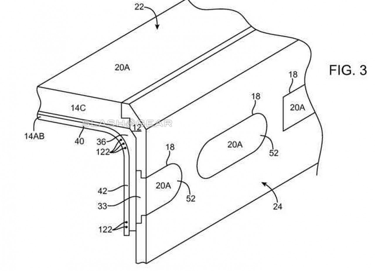 iPhone curved patent