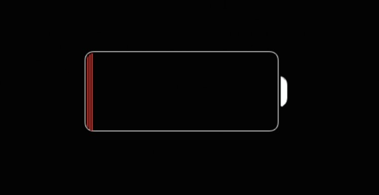 iphone-batterie-leer