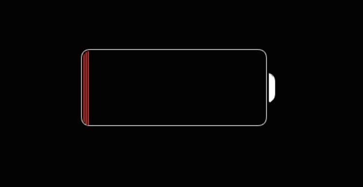 iphone-batterie-leer