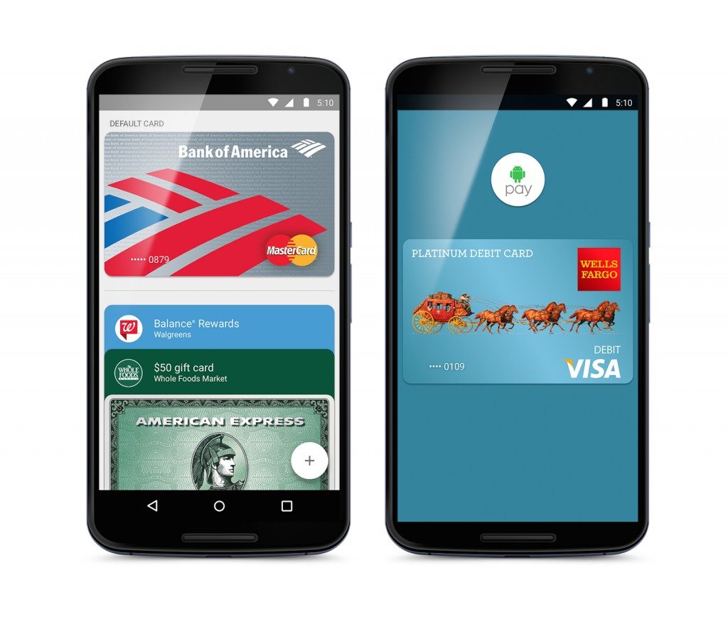 Android Pay Google Bild