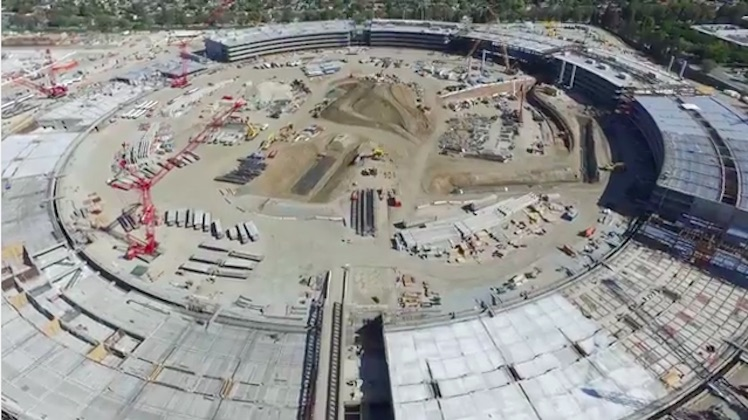 Apple Campus 2 Drone 9 15