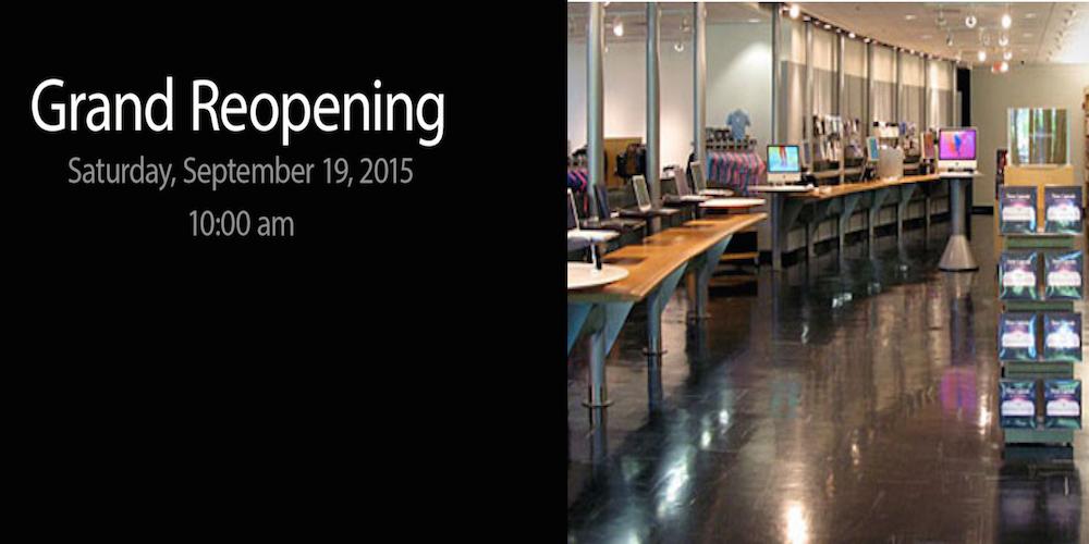 Apple Company Store Neueroeffnung