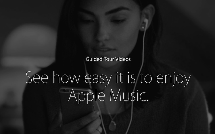 Apple Music Guided Tours