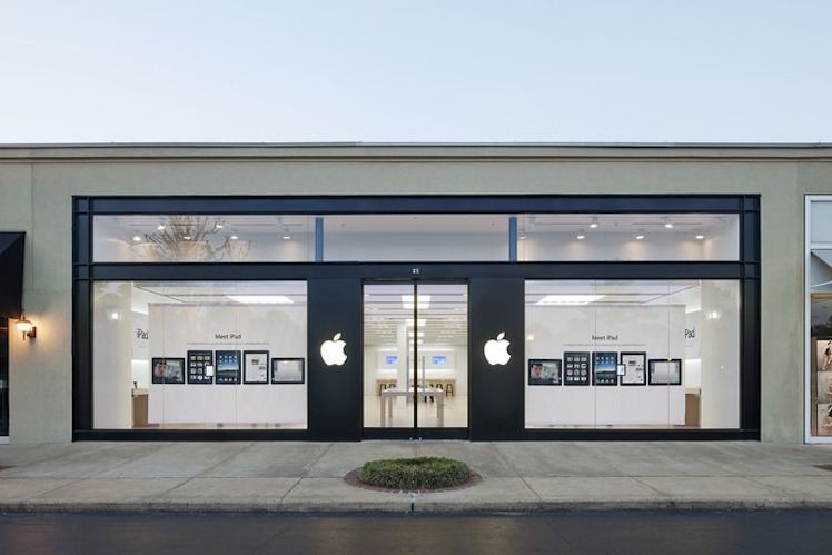 Apple Store Memphis aktuell