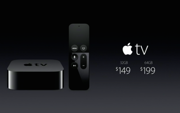 Apple TV 4 neu