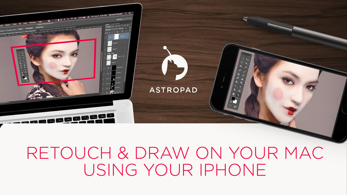 Astropad mini Screen